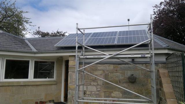 1kw solar panel installation