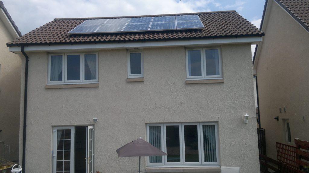 4kw Solar Pv Panel System Installed In Kirkcaldy Fife