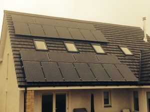 10kw Solar Pv Panel System In Dunfermline G59 Domestic