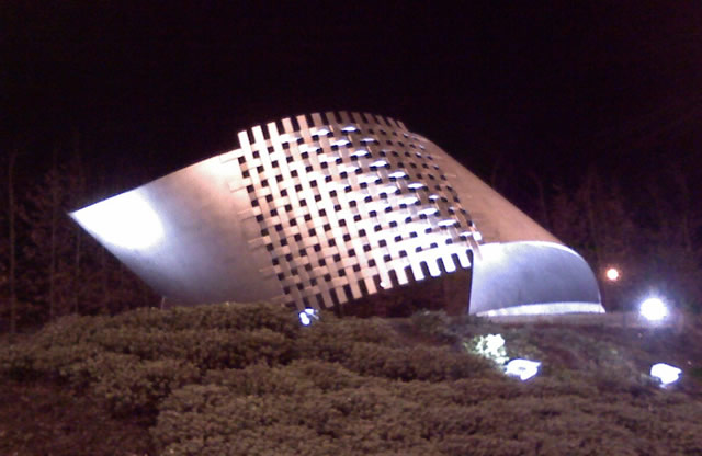 John Smith Business Park, Kirkcaldy - Sculpture Lighting